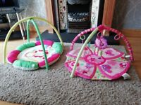 Baby play mats and changing mats