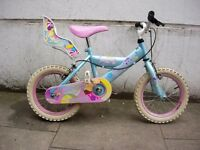 Kids Bike, by Silver Fox,14 inch Wheels, Great for Kids 4 Years, JUST SERVICED / CHEAP PRICE!!!!!!!!