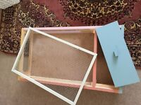 Large wooden pet cage