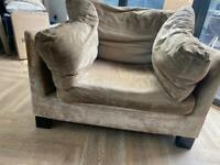 John Lewis 2 seater sofa and armchair