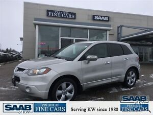 2009 Acura RDX NO ACCIDENTS Heated Leather Moon roof AND Alloys