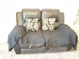 2+3 sitter letter recliner sofa good condition for sale.