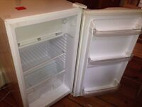 Under counter refrigerator with freezer compartment