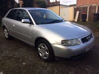 52 PLATE AUDI A3 1.6 SE *11 MONTHS MOT* *SPARES OR REPAIRS*
