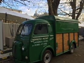 Catering - Food Truck - Coffee Truck (very rare) Peugeot D4B.