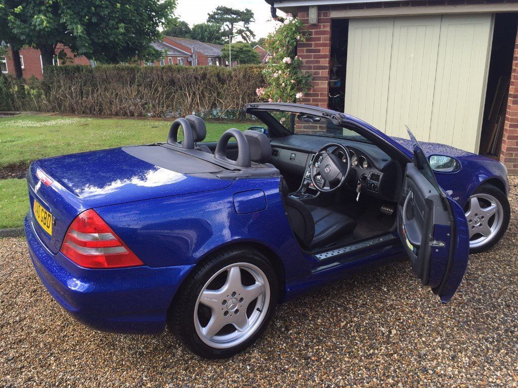 mercedes slk 230 convertible 1999 t reg amg wheels in kesgrave suffolk gumtree. Black Bedroom Furniture Sets. Home Design Ideas