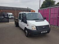 FORD TRANSIT CREW CAB TIPPER 2012REG FOR SALE