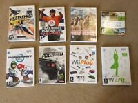 Wii console, Wii fit and games for sale. Price negotiable