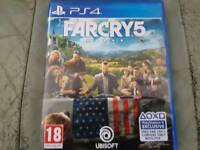Far Cry 5 PS4 (Mint Condition)