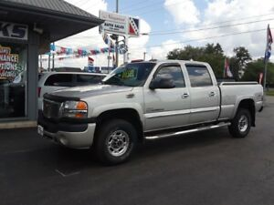 2005 GMC SIERRA 2500HD SLT, Crew, 4X4, Running Boards