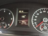 vw caddy panel van only 32k miles , mot no VAT