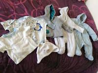 Baby boy clothes bundle - 0 to 3 months