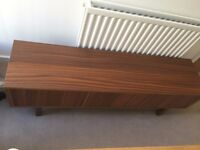 tv cabinet/table/bench, 2 yrs old in good condition. No longer needed due to house move.