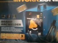 Stick welder, used once, 80 amps, boxed, bargain, £25