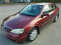 VAUXHALL ASTRA 1.4 LS 16V LOW MILES