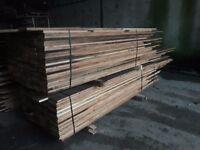 Resawn Oregon pine flooring