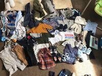 0-3&3-6 month boy clothes