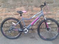 New Boss Women's Ladies Pulse Hard Tail Disk Mountain Bike RRP £199