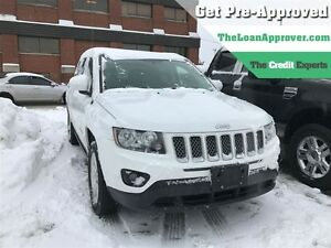2015 Jeep Compass North | ONE OWNER | LEATHER | 4WD