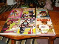 6 MRS. BROWNS BOYS DVD'S.