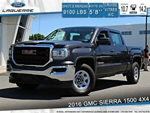 2016 GMC Sierra 1500 5.3L V8**4X4*6 PLACES*CRUISE*A/C**