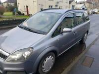 2006 Vauxhall Zafira 7 seater. Private plate £1000ono
