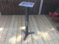 Bench grinder stand