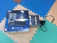 PS3 Super Slim 500 GB & 10 games