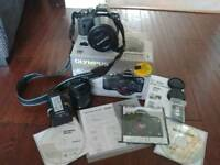 Olympus E-400 digital camera + accessories