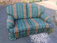 Sofa - Quality Extra Comfy 2 Seater Fabric Sofa