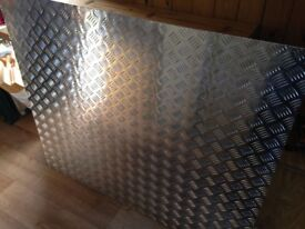 Aluminium Tread plate / Chequer plate 2mm (1150x1000mm)