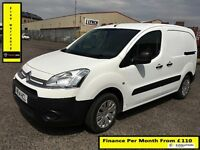 Citroen Berlingo 1.6 LX Van,1 Owner,61K Miles , 1YR MOT, Warranty