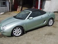 MGF Low miles very tidy.