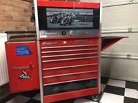 Snap On Tool Box, Cart & Tools