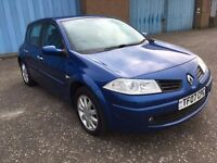 2007 Renault MEGANE 1.6 dynamique ,mot - March 2018,only 58,000 miles,full history,astra,focus
