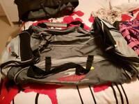 Large sports gym bag holdall cricket bag