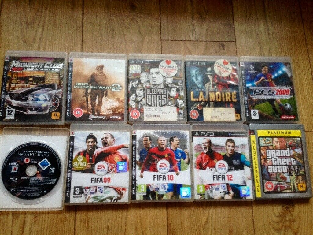 10 PlayStation 3 games