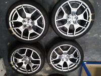 "Subaru WRX STI 19"" Alloy Wheels Pro Drive GT like New with Pirelli Tyres"