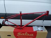Salsa El Mariachi 29er Steel Frame Ruby Red Size Medium
