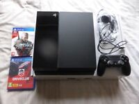 SONY PLAYSTATION 4 PS4 500GB - JET BLACK
