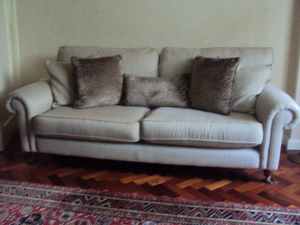 Laura Ashley Kingston Large 2 Seater Sofa Only Five Months