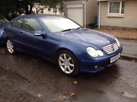 MERCEDES C220 CDI AUTO SE IN OUTSTANDING CONDITION MAY SWAP.