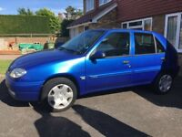 LOW MILEAGE 2001 Citroen Saxo 1.1L
