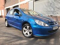 Peugeot 307 2004 2.0 HDi S 5 door (a/c) ECONOMICAL AND GREAT SMALL CAR, BARGAIN