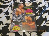 RARE WWF / WWE WRESTLING ANNUAL no 2 have other wrestling items for sale