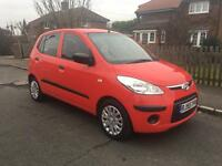 HYUNDAI i10, 2010, { 1 OWNER }, 1 YEARS MOT, £30 A YEAR TAX