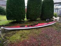 Valley Pintail Sea Kayak - damaged - Repair Project