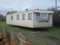 Static Caravan 35ft x 10ft Cosalt Carlton - 3 bed plus store room - must sell soon, great price!!