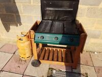 Winchester 3 Burner Flat Bed Gas Barbecue