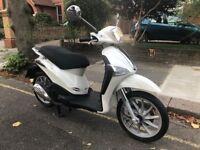PIAGGIO LIBERTY 125cc 3v white 16 plate stunning hpi clear!!